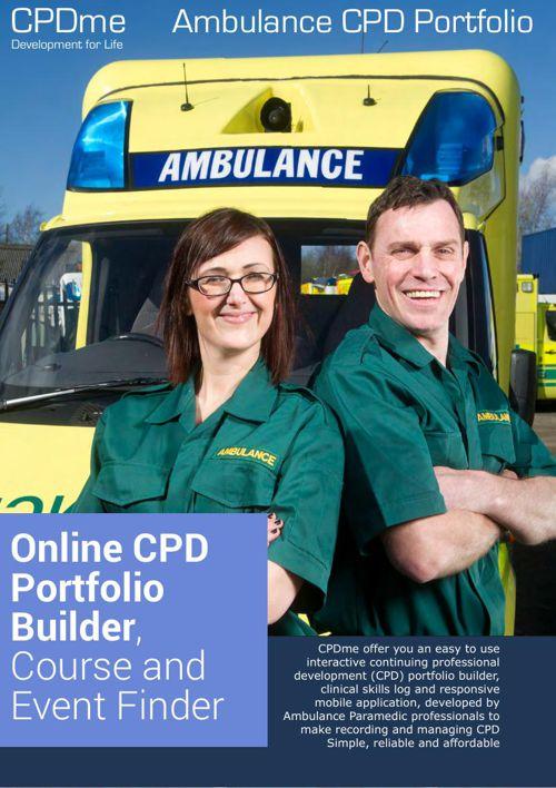 Ambulance CPD Portfolio