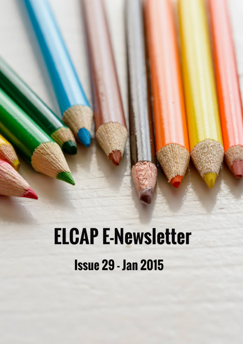 Issue 29 - Jan 2015 - ELCAP E-Newsletter