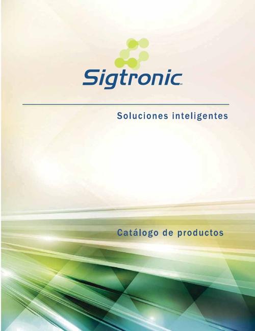 Catálogo Sigtronic