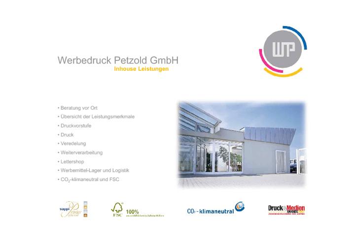 Werbedruck Petzold