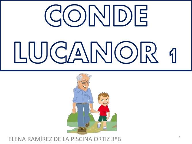 conde lucanor 1