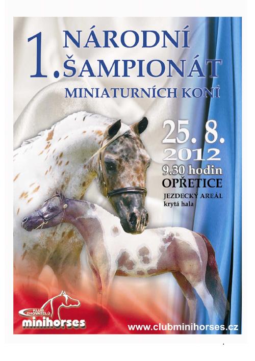 Propozice I. Národní šampionát Opřetice 25. 8.2012