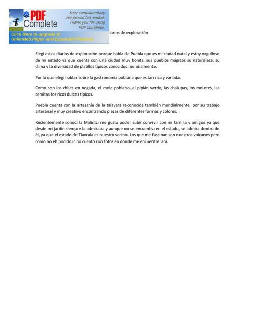 diarios de exploracion pdf