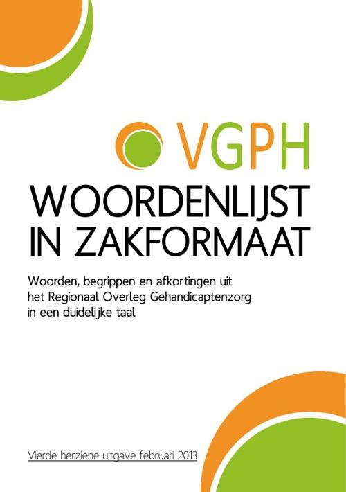 VGPH Woordenlijst in zakformaat