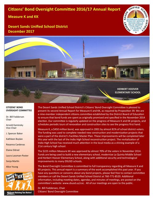 Measure K and KK Annual Report 11-'17 v3