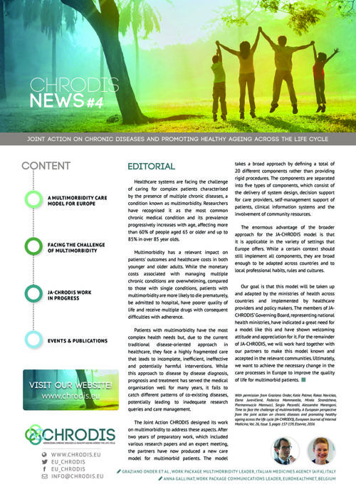 JA-CHRODIS Newsletter Multimorbidity