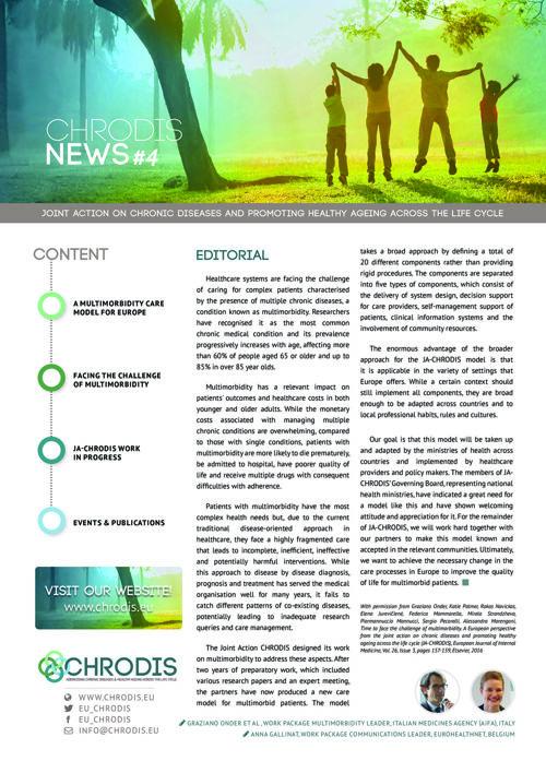 JA-CHRODIS Newsletter Multimorbidity