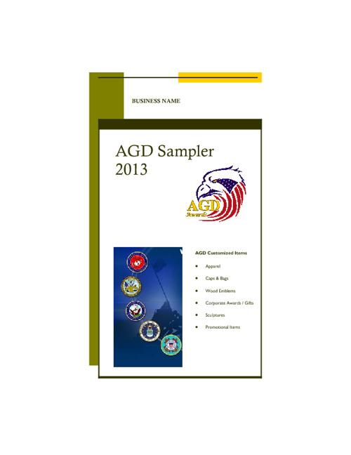 AGD Catalog