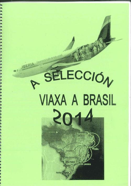 A selección viaxa a brasil