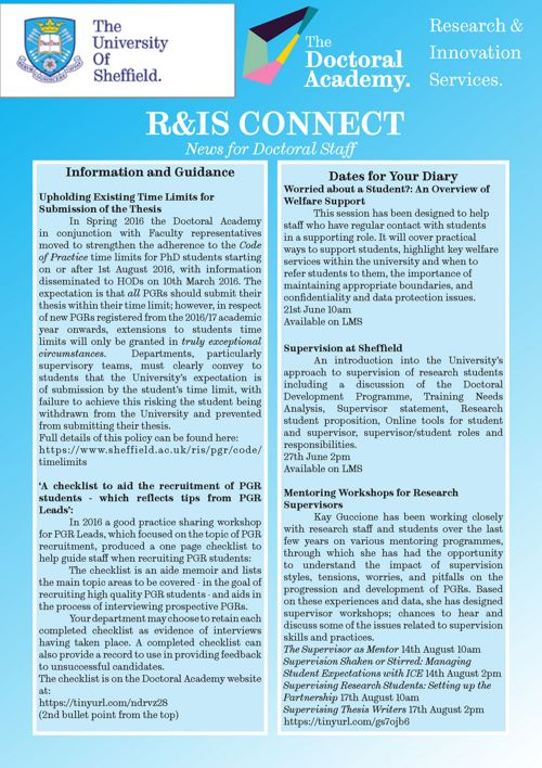 R&IS Connect June 2017
