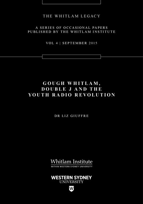 Gough Whitlam, Double J and the Youth Radio Revolution