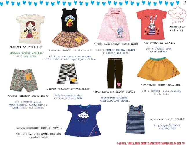 Rocco & LoLA™ | Girls Spring Children Collection