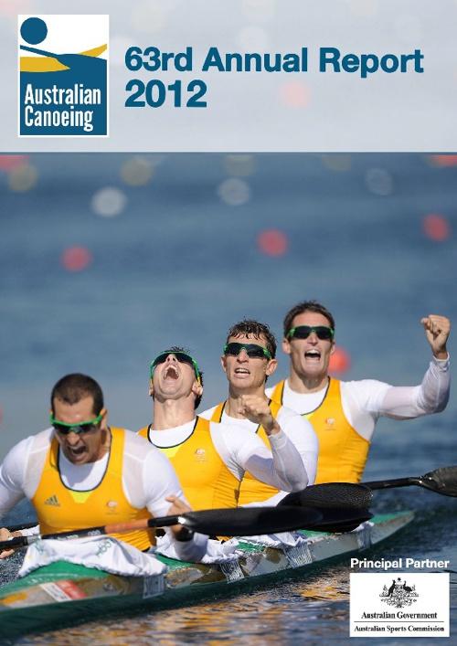 2012 Australian Canoeing Annual Report