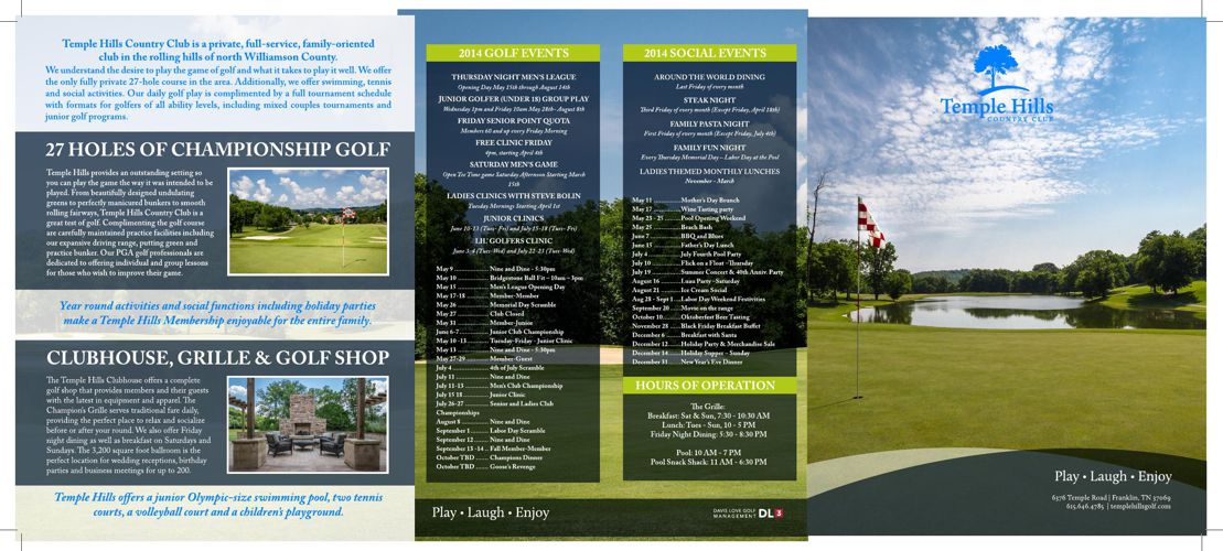 Temple Hills New Member Brochure HIGH RES