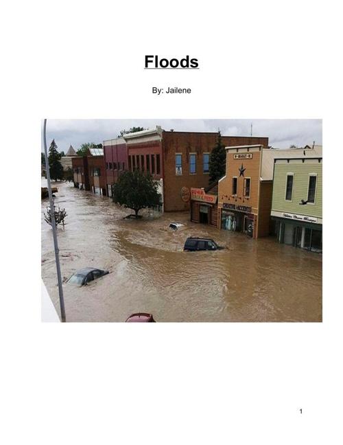 Floods By: Jailene O.