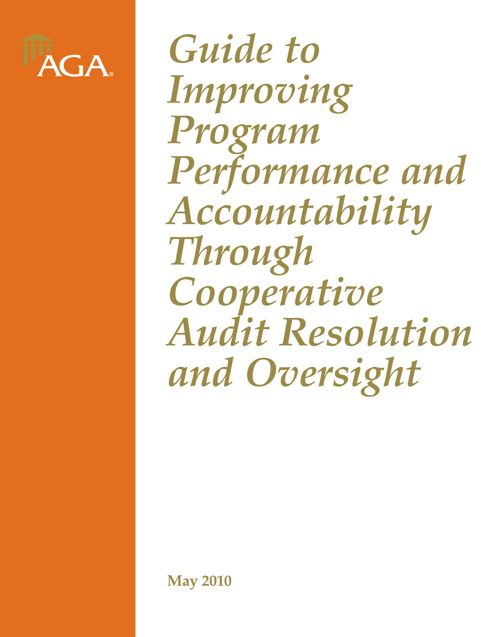 AGA Guide to Improving Program Performance & Accountability