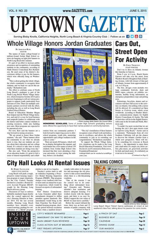 Uptown Gazette - June 5, 2015