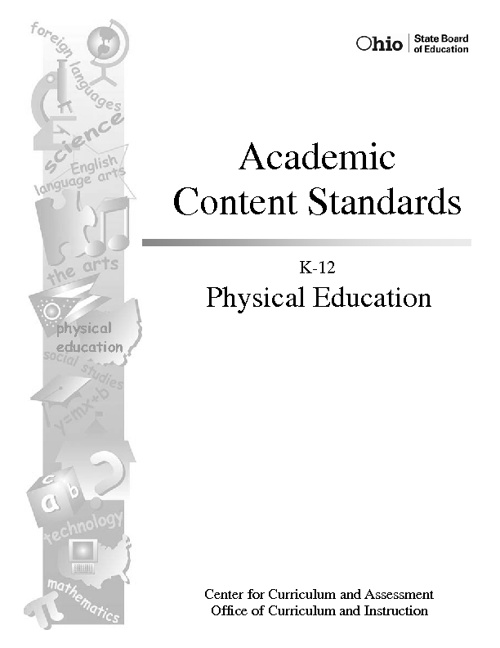 Physical Education State Standards
