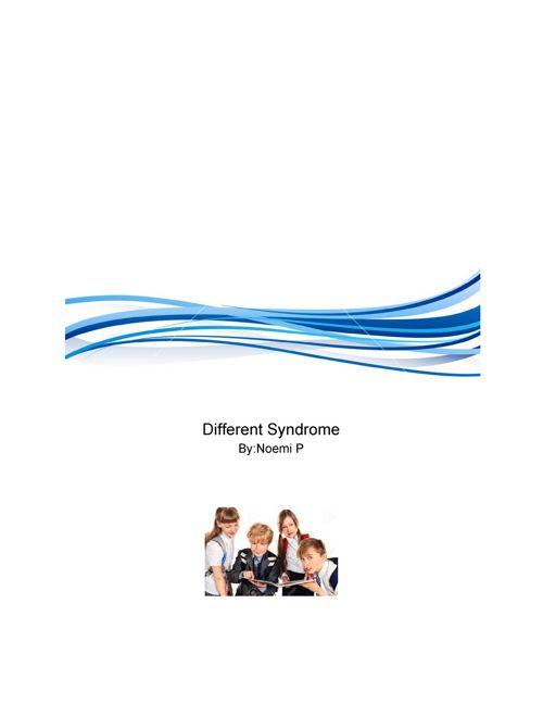 DifferentsyndromestoryforLA