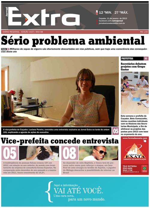 Jornal Extra 11/01/2012