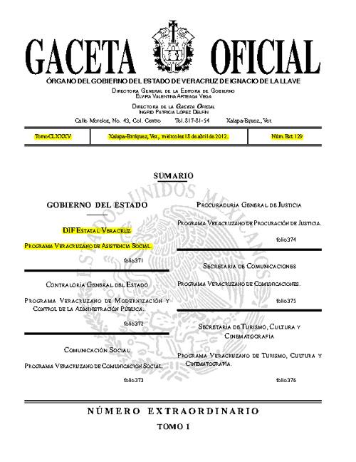 Programas Sectoriales 2011-2016