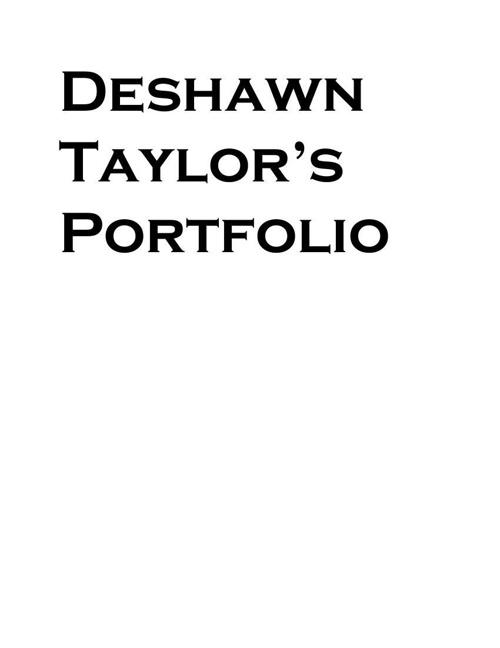 Deshawn Taylor12