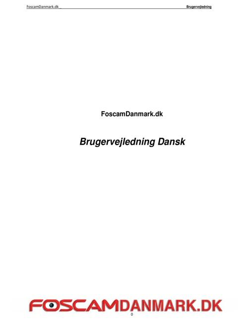 Brugervejl_Foscamdanmark.dk