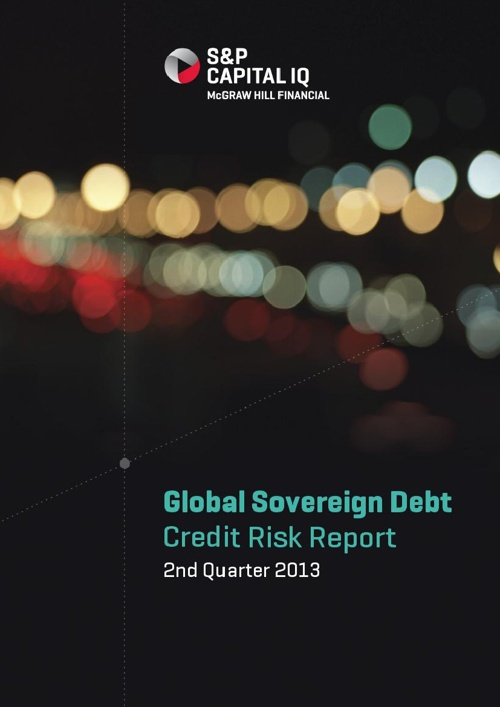 S&P Capital IQ Global Sovereign Debt Credit Risk Report Q2 2013