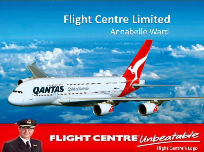 Annabelle Ward - Flight Centre
