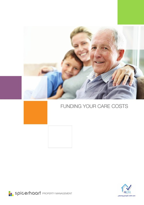 Copy of Spicerhaart – Funding Your Care Costs – ACH