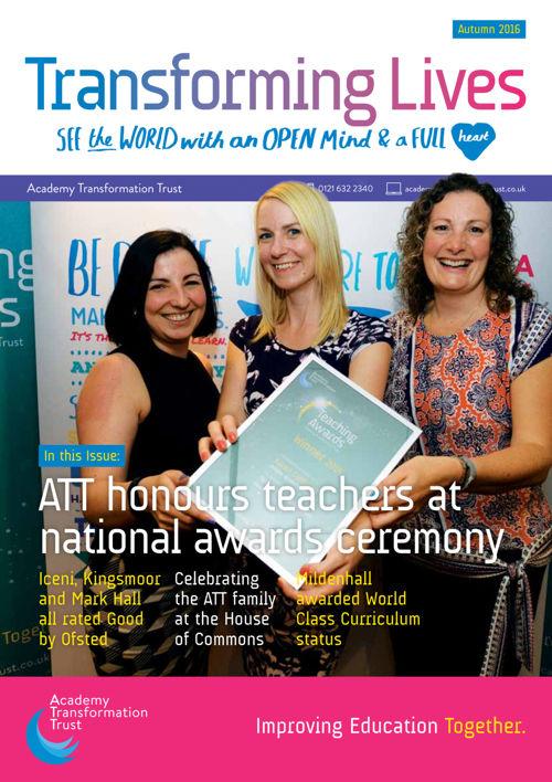 ATT Autumn Newsletter 2016