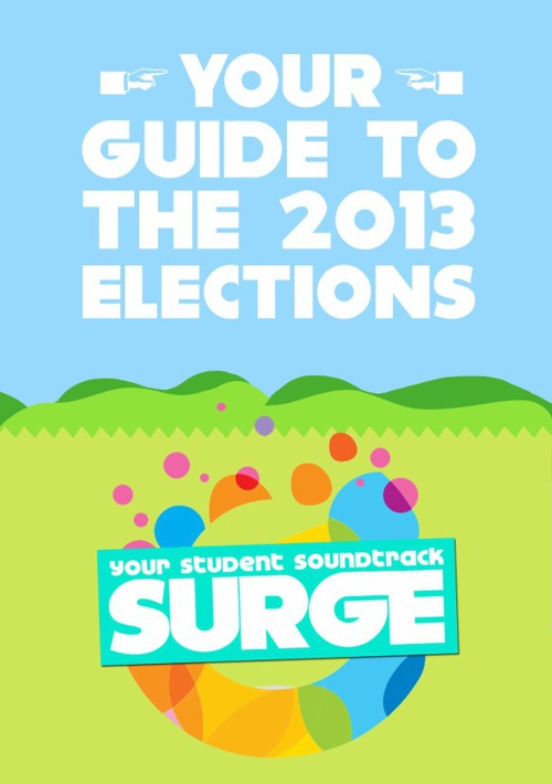 Surge's Guide to the 2013 Elections
