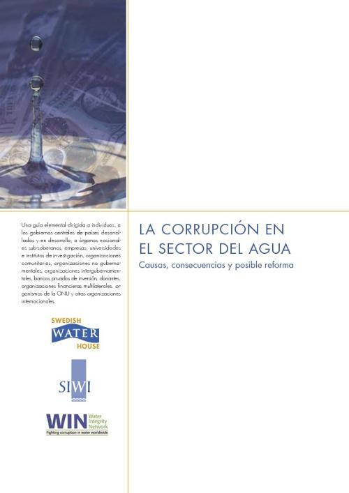 La Corrupción en el Sector del Agua