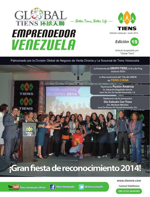 global tiens junio 2014