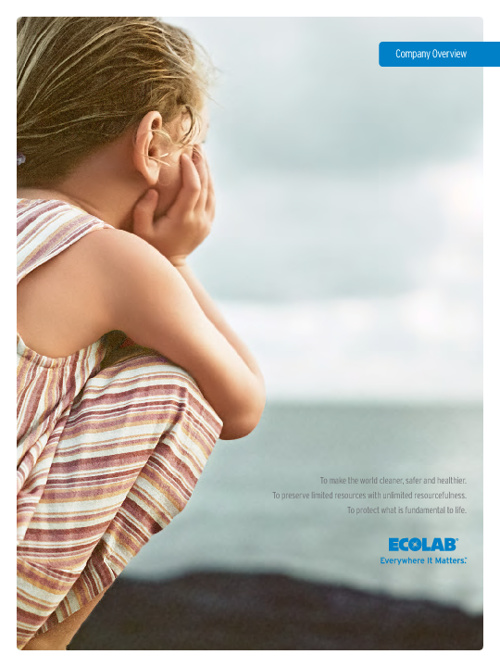 Ecolab Company Overview