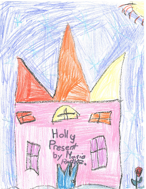Holly Present by Maria Radke