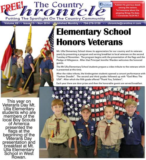 Nov 2014 Cleveland Chronicle