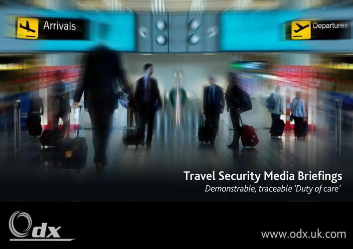 OdX travel brochure