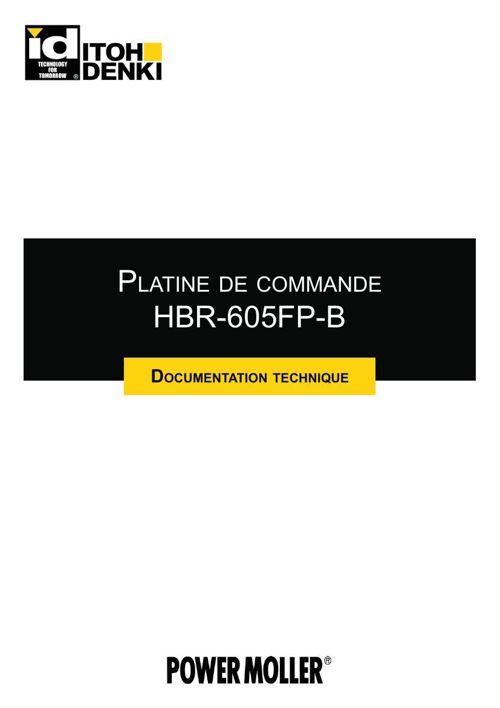 Itoh Denki - DocTechnique HBR-605FP FR