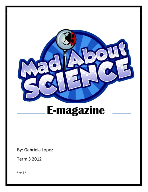 Mad About Science?