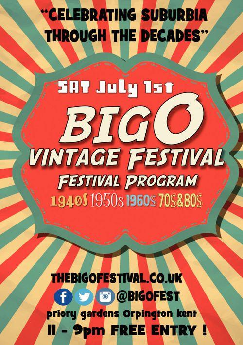 The Big O Vintage Festival, Orpington 2017 - Brochure