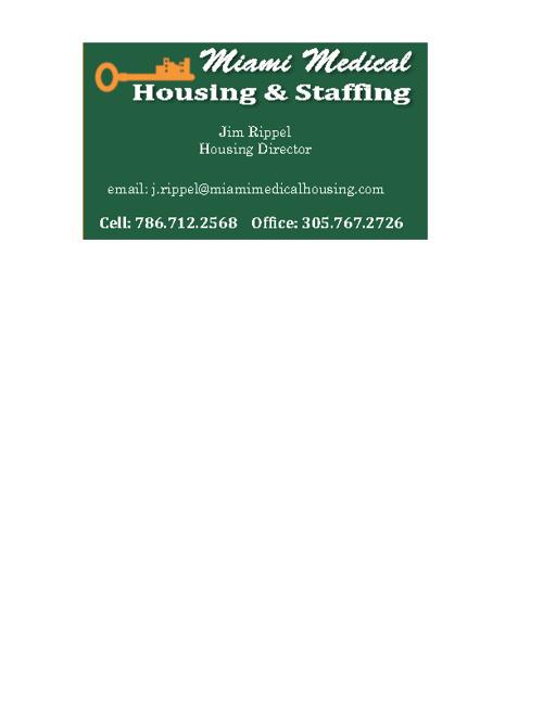 Miami Medical Housing