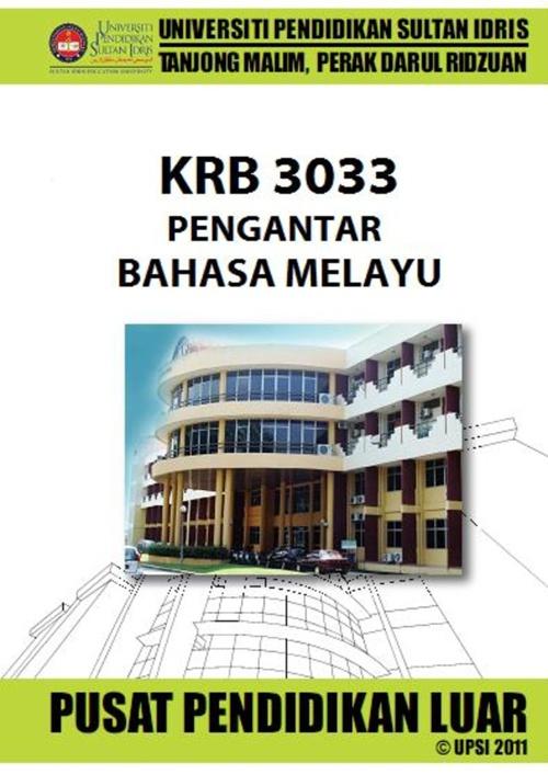 KRB 3033 PENGANTAR BAHASA MELAYU