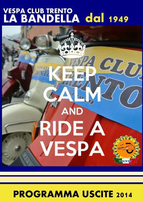 Calendario Vespa Club Trento 2014