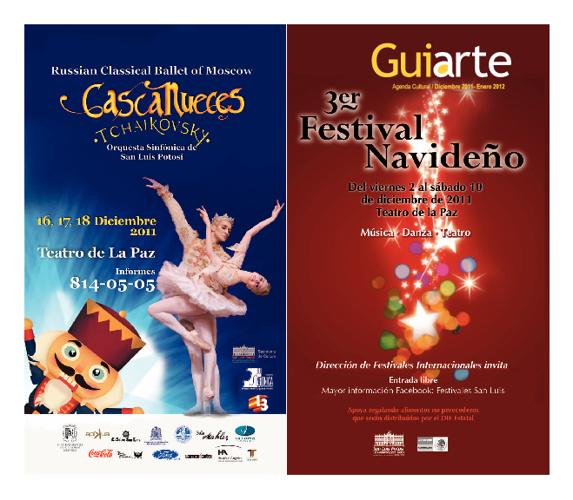 GUIARTE mes de Diciembre 2011 y Enero 2012 programación cultural