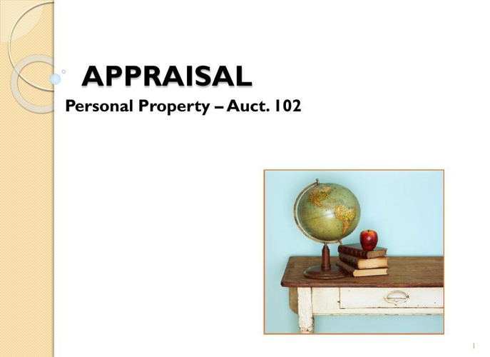 3 - 1 APPRAISAL - Copy