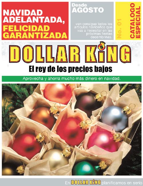 DOLLAR KING - CATALOGO NAVIDAD