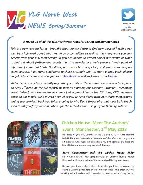 YLG Northwest Spring/Summer News
