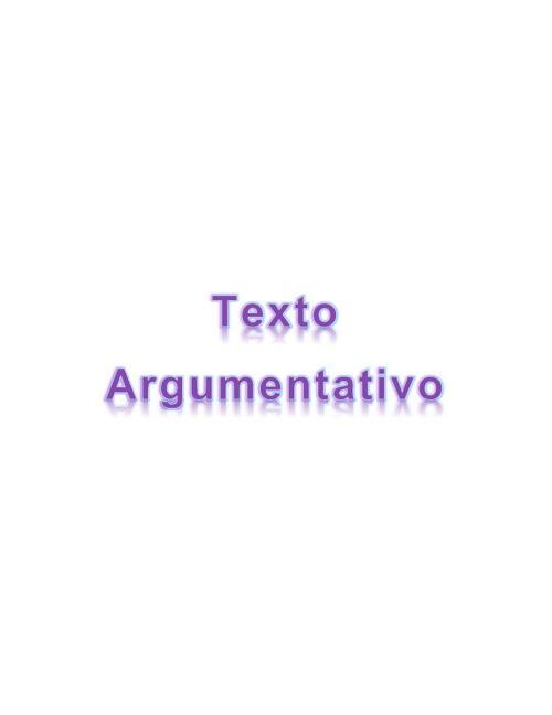 Texto Argumentativo Flipsnack