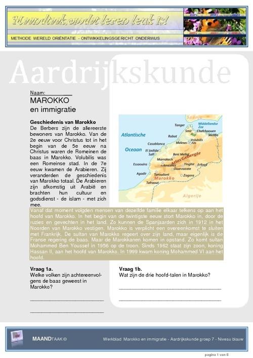 Marokko en immigratie
